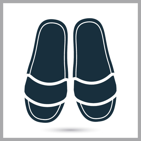 a pair of: Home slippers pair icon