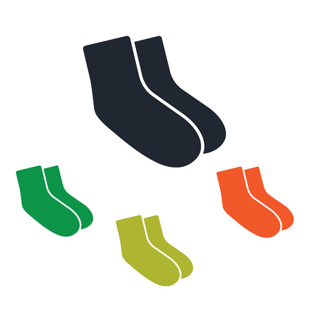 the pair: A pair socks icon