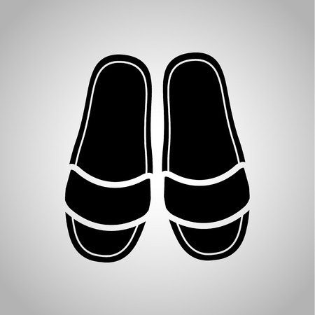 slippers: Home slippers pair icon