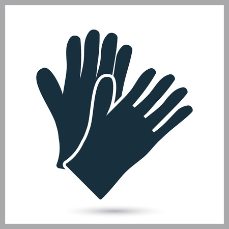 a pair of: Male pair gloves icon