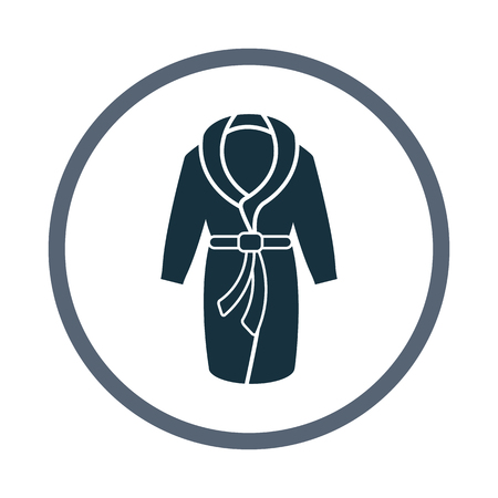 bathrobe: Home bathrobe icon