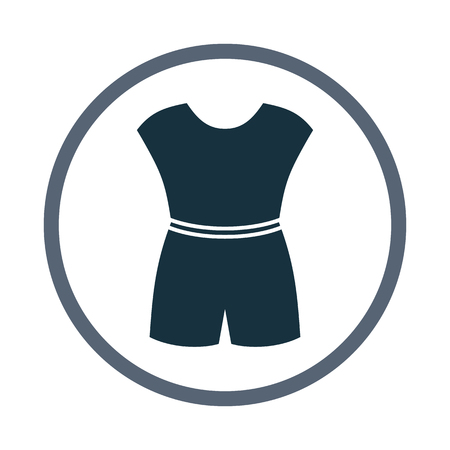 overalls: Female overalls icon