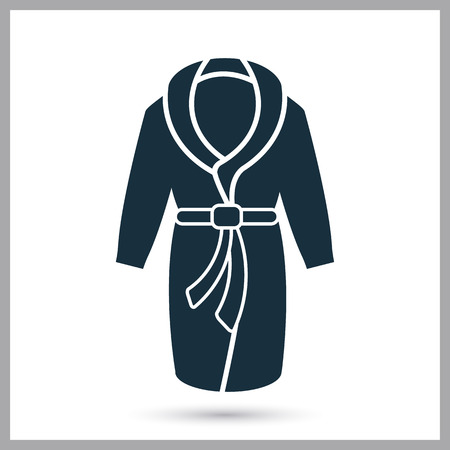 Home bathrobe icon