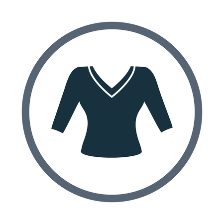 blouse: Female blouse icon
