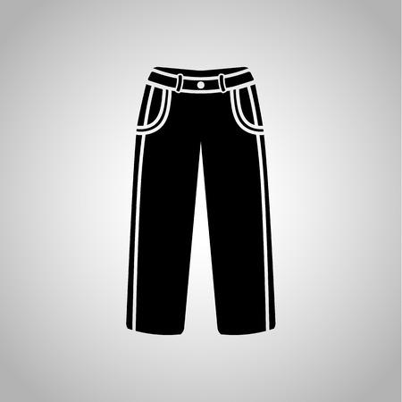 pants: Male pants icon