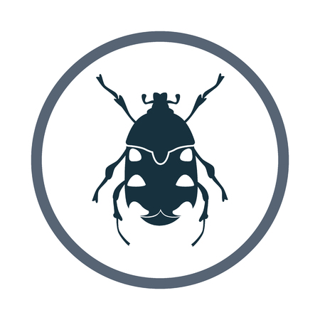 Chafer icon. Simple design for web and mobile