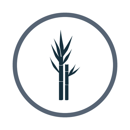 sugar cane: Sugar cane agriculture crop icon. Simple design for web and mobile