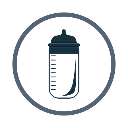 offspring: Baby nutrition icon. Simple design for web and mobile