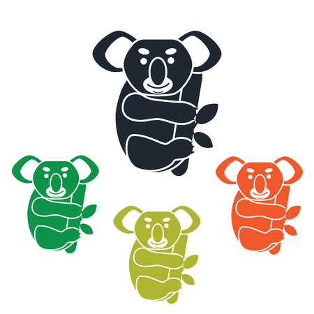 Koala simple icon