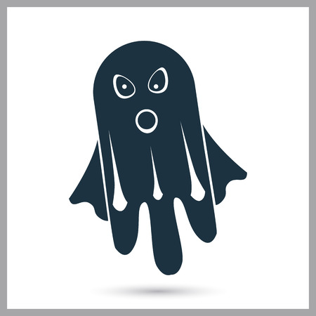 Ghost simple vector stock icon