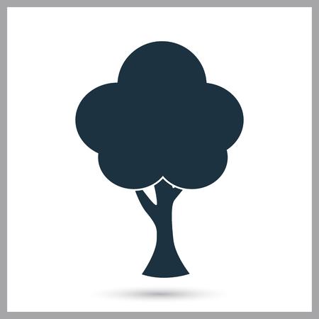 Tree simple icon