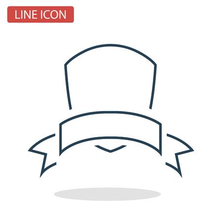 Ícone de linha de prêmio vencedor para web e design de móvel. Ilustración de vector
