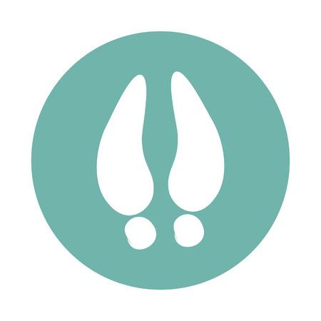 hoof: Hoof print icon