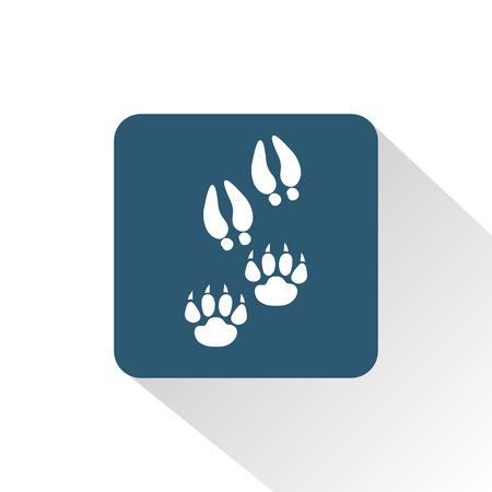prey: Predator and prey print icon