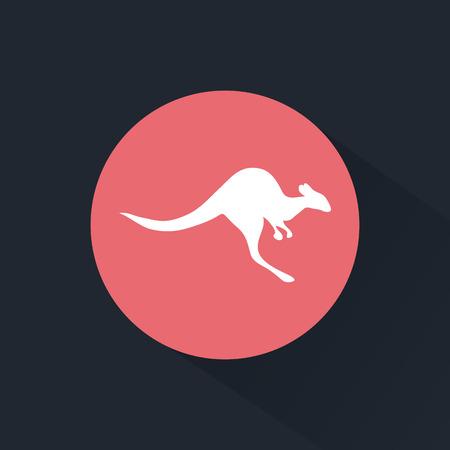 animal pouch: Kangaroo icon