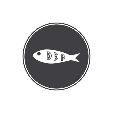 fried: Fried fish icon