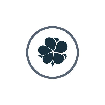 cotton plant: Cotton boll icon