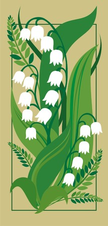 Lily of the valley Stock Vector - 7086108
