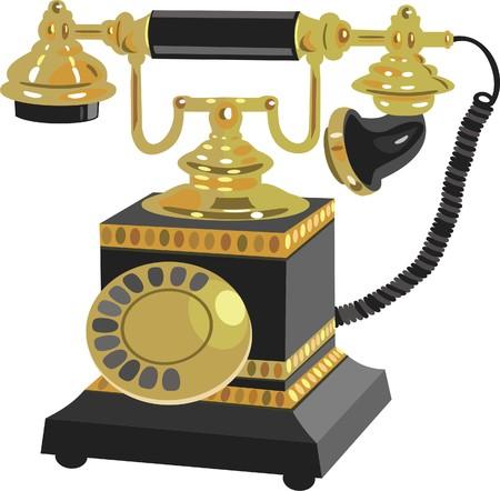 Telephone  Stock Vector - 7177835