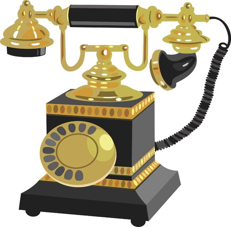 vintage telephone:  Telephone