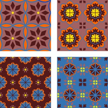 earthenware: Azulejos y baldosas  Vectores