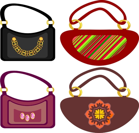 handbags and shoes to match Stock Vector - 7256995