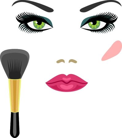 Makeup  Stock Vector - 7415750
