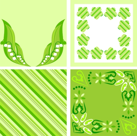 lily flowers collection: Scrapbook  Illustration