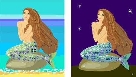 undine: Mermaid  Illustration