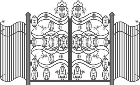 metal lattice: Gates