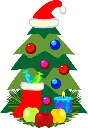 Christmas still life Stock Vector - 8092878