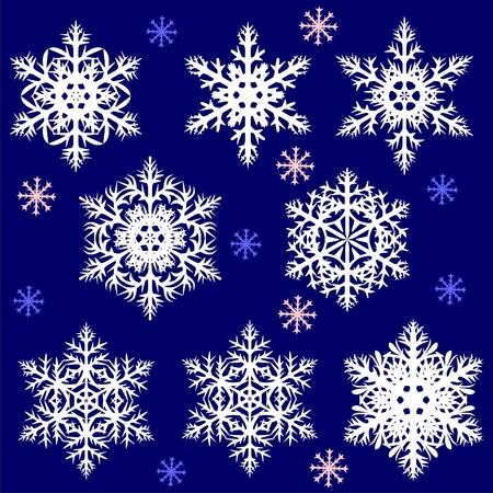 Snowflake Stock Vector - 8092887