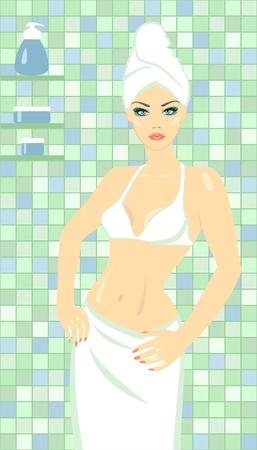 salud sexual: Belleza Spa  Vectores