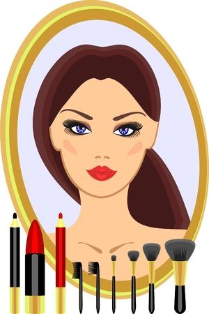 makeup Stock Vector - 8152081