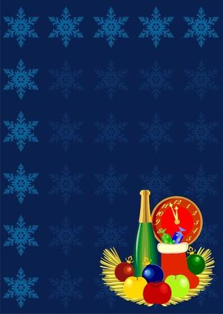 Postcard for Christmas Stock Vector - 8152093