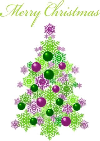 Christmas tree Stock Vector - 8221609