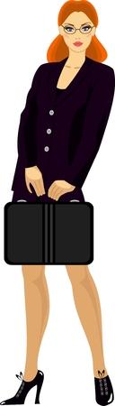 Businesswoman Stock Vector - 8221618