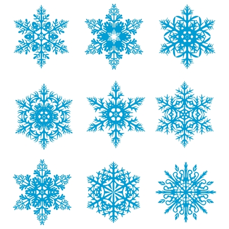 Snowflakes Stock Vector - 8221619