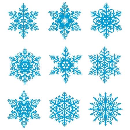 Snowflakes Stock Vector - 8221619