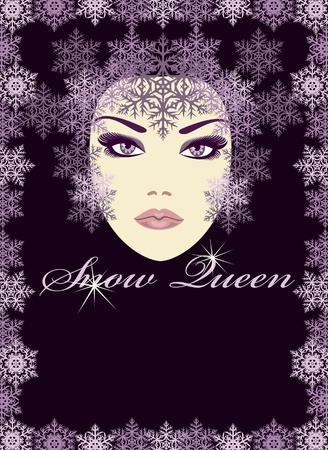 snow queen: Snow  Queen   Illustration