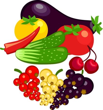 currants: vegetables and berries currants