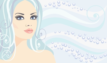 sexual health: Spa beauty in vector   Illustration