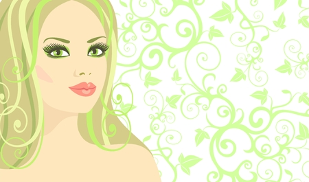 light complexion: Lady Spring     Illustration