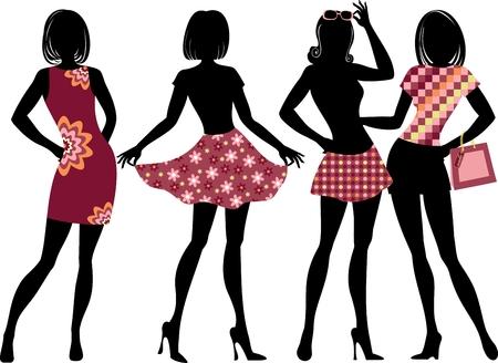 clothes label: fashion girls
