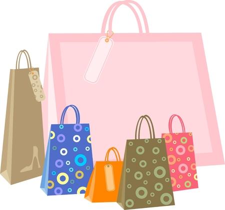 Shopping bag Stock Vector - 8922602