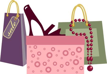 shoe sale: Bolsa de compras