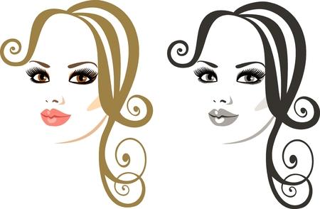 eyebrow makeup: trucco e acconciatura