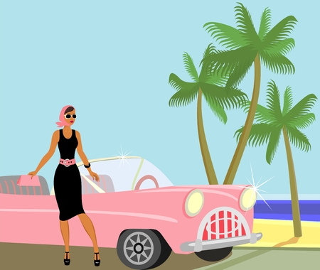 Traveling  Celebrity Vector