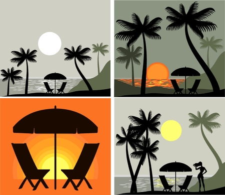 beach icon Stock Vector - 9090519