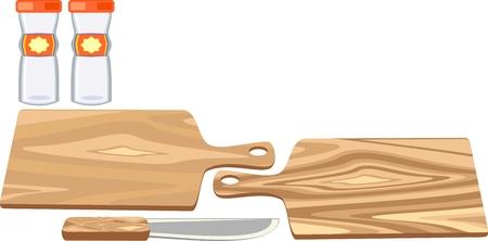 cutting board Stock Vector - 9090520